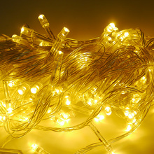 10m LED Curtain Icicle String Light 220V 100Leds Christmas Garland LED Faiy Xmas Party Garden Stage Outdoor Decorative Light
