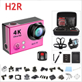 new version H2R Remote Control Action Camera Ultra HD 4K Waterproof 2.0' 170 Lens WIFI Sports DV  Action Video Camera cam