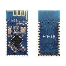 HM 18 cc2640r2f bluetooth 모듈 ble 5.0 직렬 포트 cc2640 마스터 슬레이브 무선 통신 모듈 투명 전송