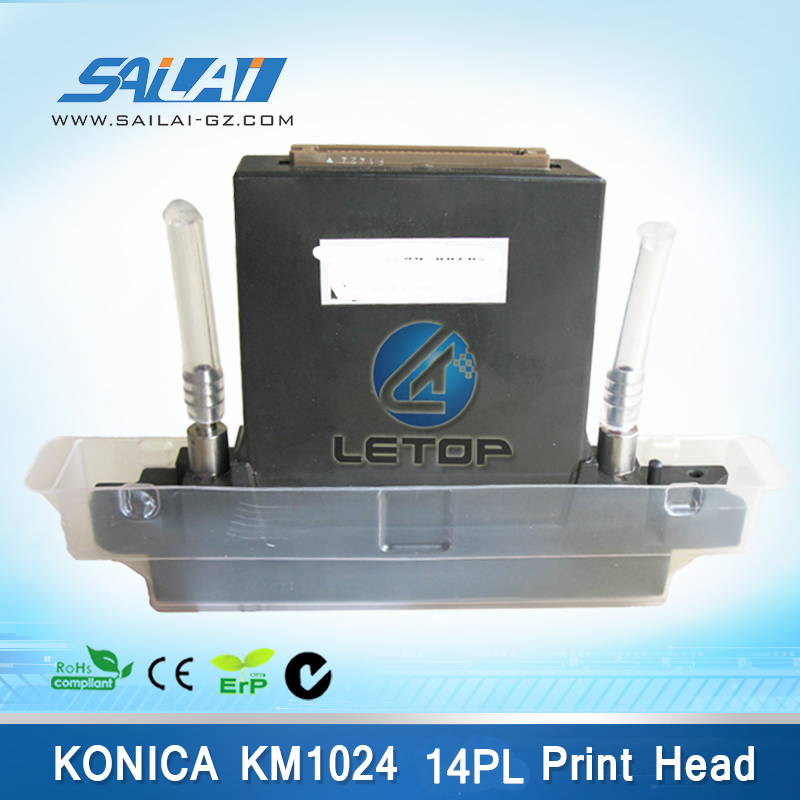 100% Original&Brand New!allwin printer konica 1024 print head KM1024 MNB 14PL for flora printer original new jeti twinjet flora printer large format printer uv solvent base g4 printhead ricoh gen4 print head 7pl