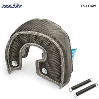 PIVOT EPMAN Carbon Fiber Turbo Blanket Heat Shield Cover High Performance FOR T3 GT37GT30 EP T3TXW