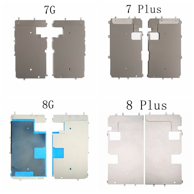 Leoleo Back Metal Plate Shield With Home Button Expand Flex Cable For iPhone 5G 5S 5C 6G 6 Plus 6S Plus 7G 7 Plus 8G 8 Plus in Mobile Phone Flex Cables from Cellphones Telecommunications