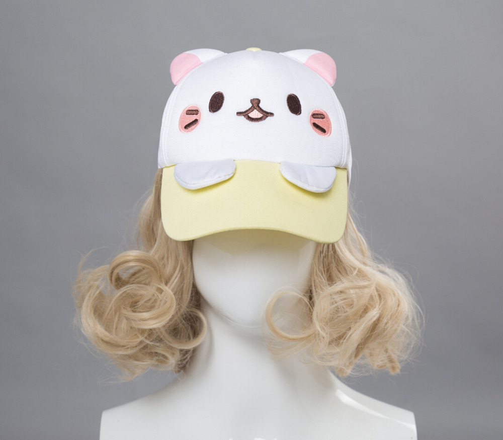 Banana Cat Berets Hat Visor Hat Winter hairy cute hat street fashion Accessories