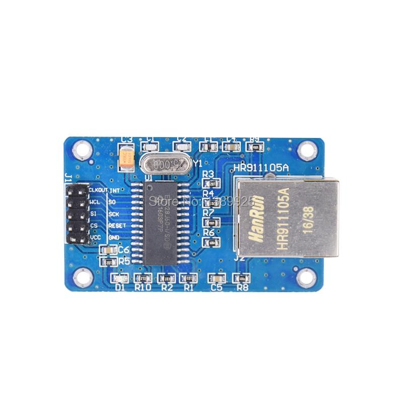 ENC28J60 SPI Interface Network Module Ethernet Module (mini Version)