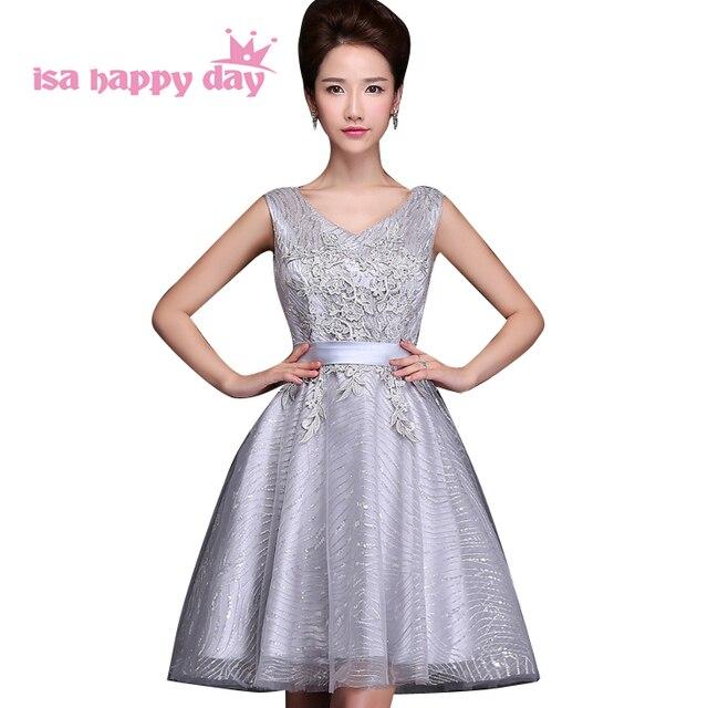 a8b202ca2d1f women 2017 knee length classy elegant short pretty fashion womens sexy  silver cocktail dresses festive girls dress gown W3263