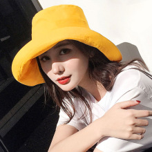Hot Sales New Korean Letter Fashionable Female Summer Beach Outdoor Travel Camping Fisherman Hat