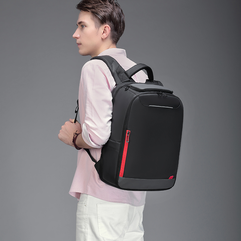 Nigeer 15.6 Inch Laptop Backpack For Teenage Fashion Male Mochila Water Repellent Leisure Travel Backpacks N0004 #6