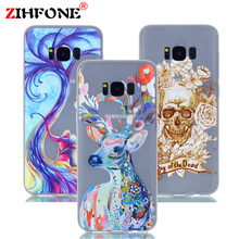For Samsung S 8 Case Noctilucence Colorful Luminous TPU Gel Phone Shell Silicone Back Cover Case For Samsung Galaxy S8