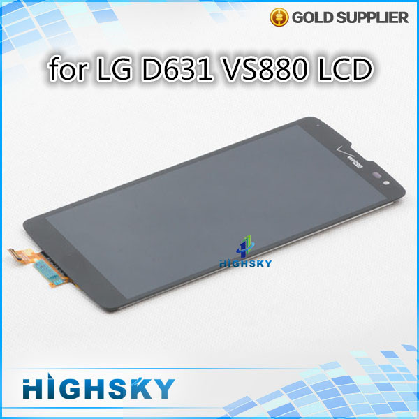 10 pcs/lot DHL EMS free shipping 100% tested one by one replacement display lcd with touch for lcd LG G Vista D631 VS880