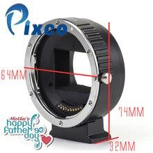 Pixco af eletrônico auto foco full-frame confirmar terno adaptador para canon ef lens para sony nex nex-5t a7 a7r câmera