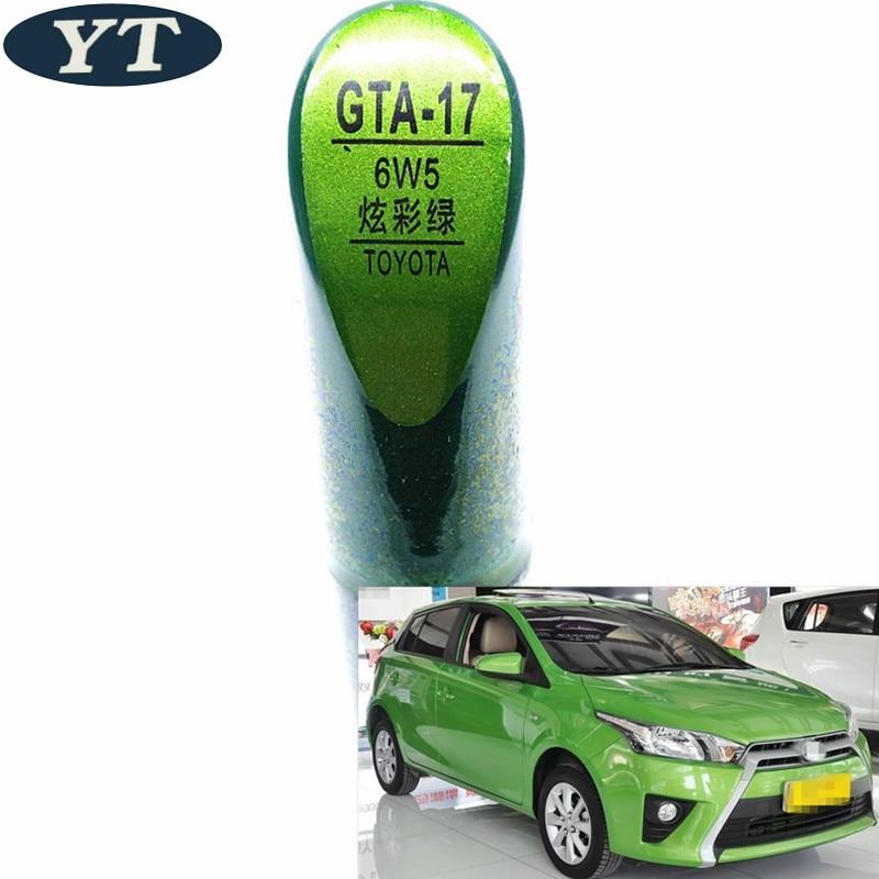 Car scratch repair pen, auto paint pen GREEN color for Toyota Vios Corolla Reiz vois highlander Crown RAV4 Camry Yaris