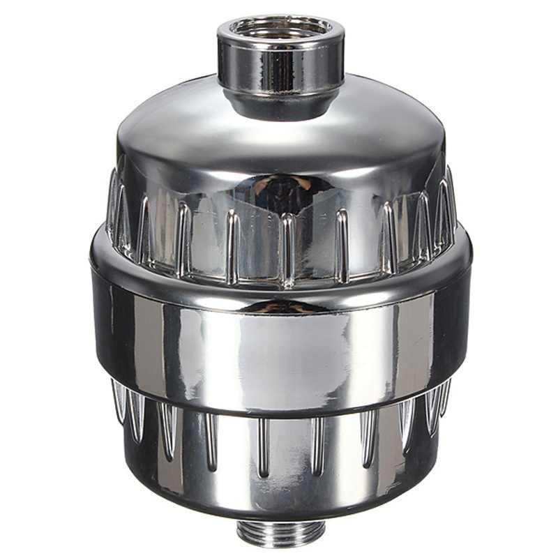 In-Line Shower Filtro Purificador de Remoção de Cloro Filtro de Água Purificador De Água Para Casa de Banho Cozinha Para A Saúde