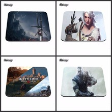 New Arrivals The Witcher three Wild Hunt Recreation Gaming Mouse Pad Mat Mousepad as Items Wholesale Enhance your desk