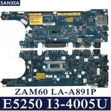 KEFU ZAM60 LA-A891P Laptop motherboard for Dell Latitude E5250 Test original mainboard I3-4005U/4010U/4020U/4030U цена и фото