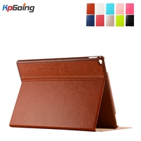 New Stand Cover for Ipad Air 2 Flip Stand Pu Leather Case for Apple Ipad 6/air 2 Smart Business Style Case Funds