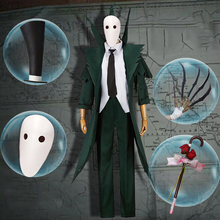 цены на Game Identity V Cosplay Costumes Hunter Jack Original Green The Ripper Jack Cosplay Costume Carnival Party Anime Cosplay Costume  в интернет-магазинах