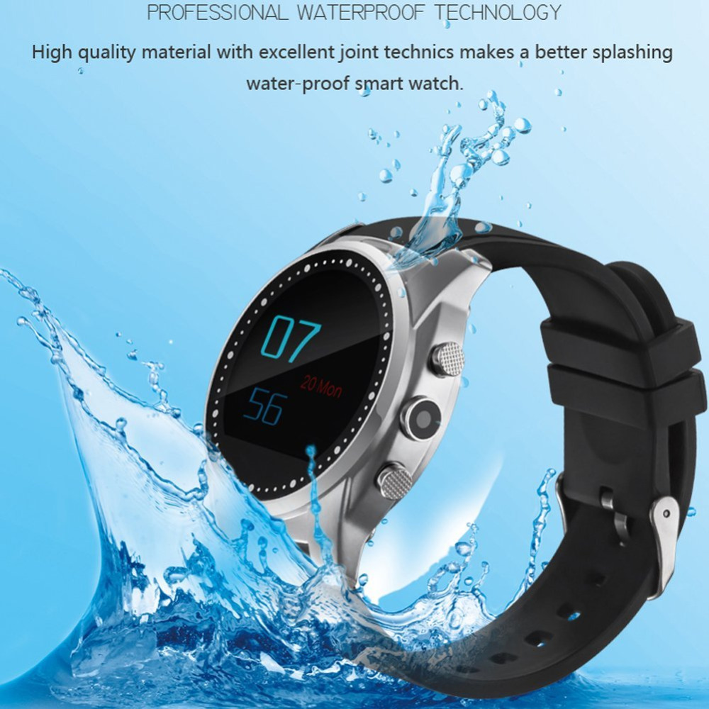 Health font b SmartWatch b font Waterproof Smart watch A8 Heart Rate Sport Watch Altimeter Barometer
