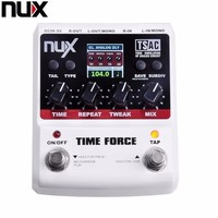 NUX TIME FORCE Guitar Effect Pedal Delay Multi Digital 11 Delay Effects Pedal De Guitarra Capo