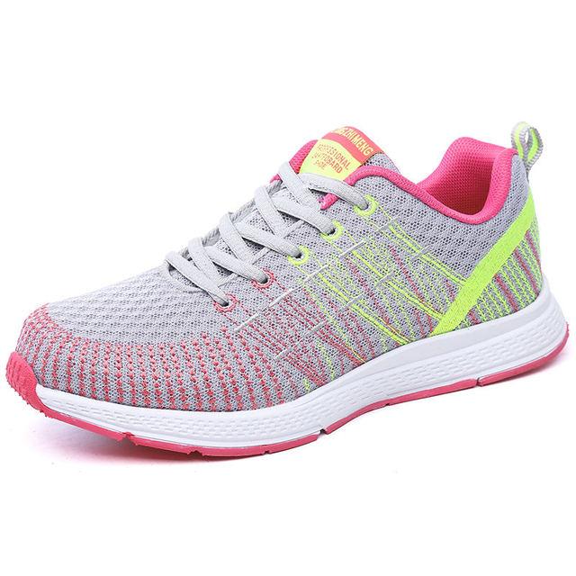 DAESPHETEL 2018 Breathable net Sport shoes cushion Running shoes for Outdoor women