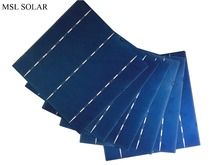 MSL 156MMx156MM 100pcs 17 Effiencicy Polycrystalline 4 1W solar cells 6x6 A grade solar cell Enought