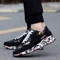 Tamaño grande 35-45 Zapatos Ocasionales Unisex de Malla Transpirable Aire Zapatos Para Correr Deporte Hombres Superestrella Entrenadores Zapatillas Inferiores Rojos