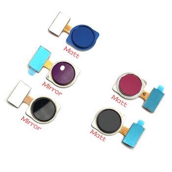10Pcs/Lot,Home Button FingerPrint Touch ID Sensor Flex Cable Ribbon For Xiaomi Redmi Note 7 / Redmi 7 Replacement Parts