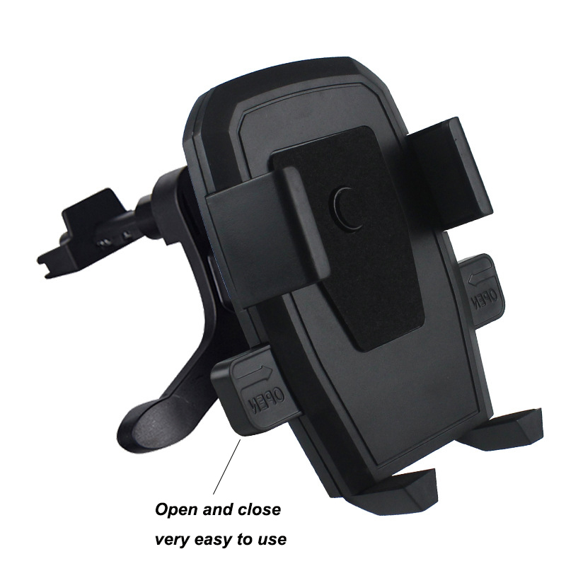 car phone holder For iPhone Samsung Huawei Car Air Vent Mount Holder ABS Metal Mobile Phone Holder freeshipping in Universal Car Bracket from Automobiles Motorcycles