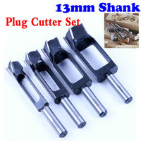 Di alta Qualità Tassello & Plug Cutter Tenone Tenone Maker, Tapered Snug Spina Cutters