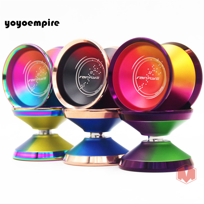 Nouvelle arrivée YOYOEMPIRE pluie mouche yoyo professionnel YOYO anneau coloré yo-yo yoyo jouet