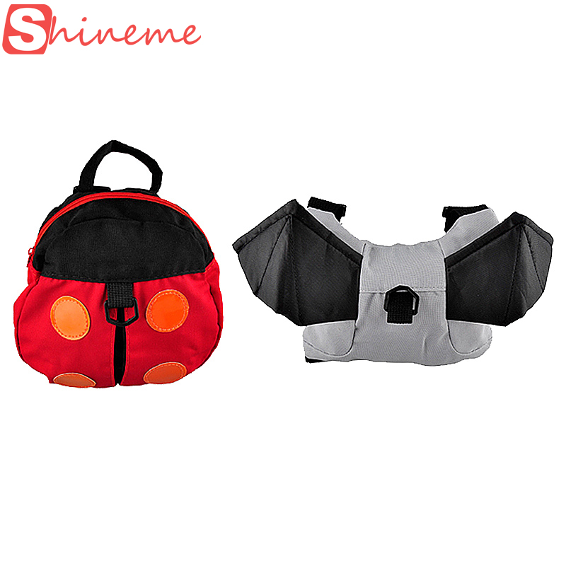 Popular Baby Carrier Anti-lost Harness Backpack For Kids Keeper Toddler Walking Safety Bag Strap Rein Goldbug Walking Wings