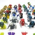 100 шт. Atomicron фон для детских фото в стиле монстров вооруженный Робот микро пейзаж декоративные подвижные человека кукла-инопланетянин игруш...