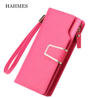 High Quality Genuine Leather Women S Wallet Cow Leather Brand Long Wallets Clutch Bag Women Wholesale