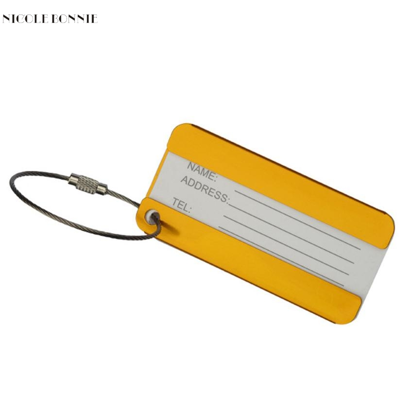 Naivety 1pc Business Simple Luggage Tag Portable Checked Boarding Card S61028 drop shipping brio железная дорога с вокзалом 33028 стартовый набор