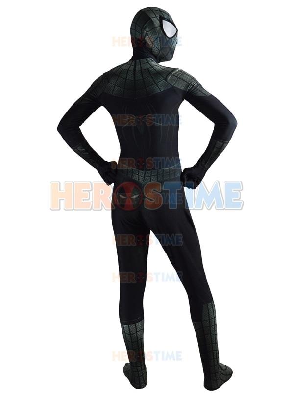 New Black Spiderman Costume Lycra 3D Տպագրություն - Կարնավալային հագուստները - Լուսանկար 6