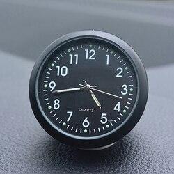 Zegar samochodowy Automobiles termometr Auto wewnętrzny cyfrowy zegarek Luminova Mechanics zegar kwarcowy ozdoby akcesoria samochodowe do stylizacji na