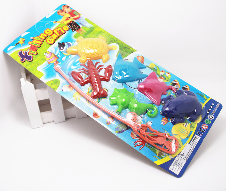 Plastic-Toy-Children-Magnetic-Fishing-Rod-Model-Bath-Fun-Toy-Set-Cartoon-Baby-Puzzle-Magnetic-Fishing-Game-Kids-Toy-1
