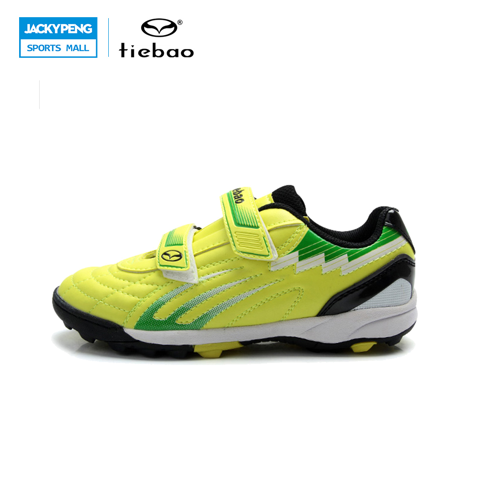 TIEBAO Professional Outdoor Soccer Shoes Children Kids Teenagers TF Turf Sole Football Athletic Training Shoes Sneakers tiebao brand football soccer shoes children kids athletic training football sneakers outdoor sport tf turf soles football shoes