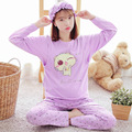 2016 Winter Nursing Clothes Sleepwear Pregnant Costume Top Quality cotton Breastfeeding Pajamas Maternity Clothes Mother XXXL