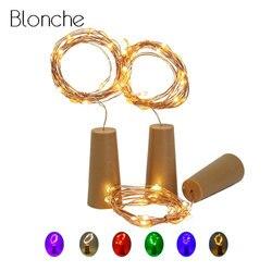 1M 2M LED Lampe String Licht Glas Wein Flasche Stopper Fee Licht Cork Geformte Dekoration für Bar Weihnachten urlaub Partei 7 Farbe