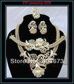 Позолоченные Свадебные Комплекты Ювелирных Изделий Ювелирные Изделия Наборы