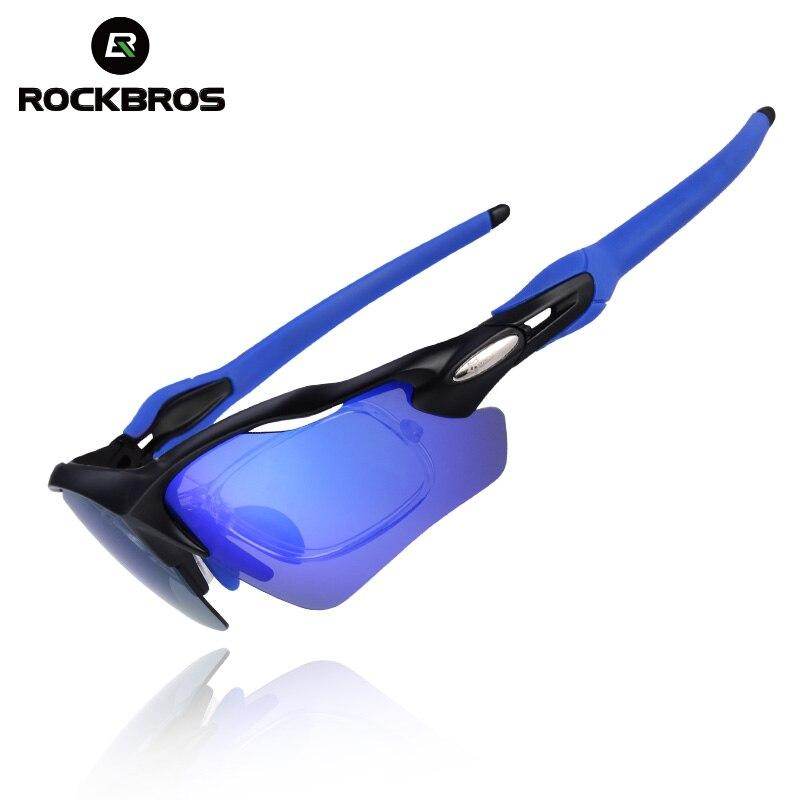 ROCKBROS UV400 Polarisé Vélo Lunettes De Vélo En Plein Air Lunettes De Sport Ultraléger Équitation Vélo lunettes de Soleil Vélo de Pêche Équipement