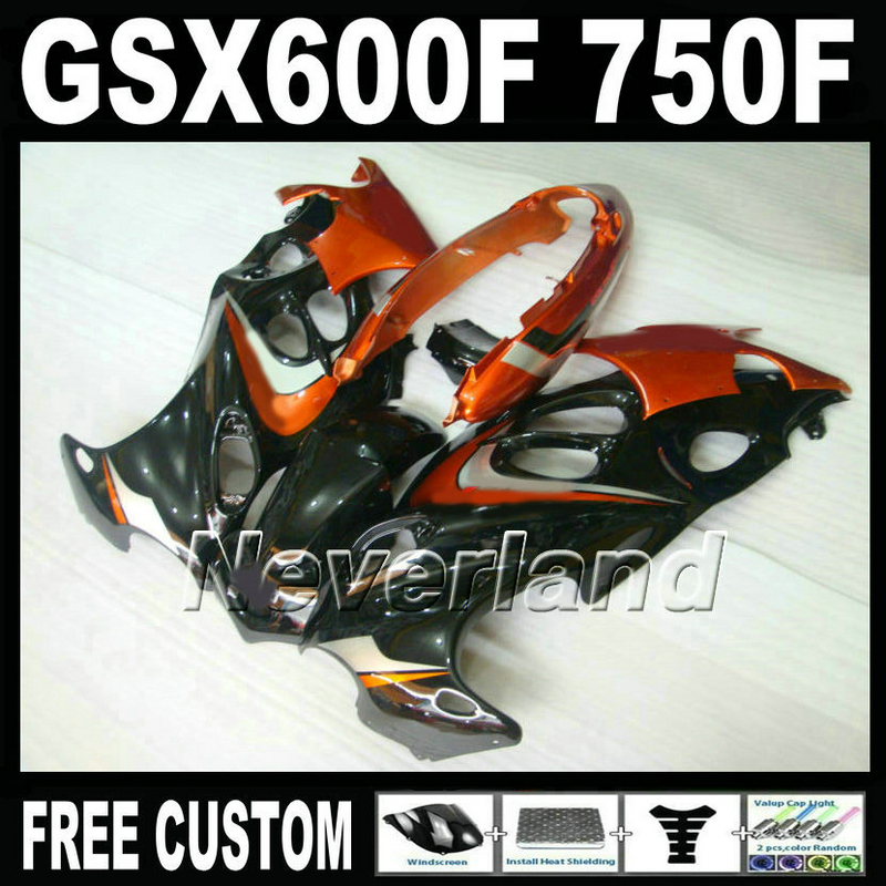 Free customize mold fairing kit for Suzuki GSX 600F 750F 95 96 97-05 red black fairings set GSX600F 1995 1996-2005 LM41 free customize mold fairing kit for suzuki gsx 600f 750f 95 96 97 05 red black fairings set gsx600f 1995 1996 2005 lm41