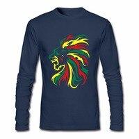 Erkek Tam T-shirt Reggae Aslan Tribal Yeni Coming T gömlek Linkin park Tasarımcı Hombre 100% Pamuk Ücretsiz Nakliye Tee gömlek
