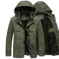 723a75c4dbeca Plus Size M 6XL Men S Winter Jacket AFS JEEP New Brand Wool Winter Coat Men