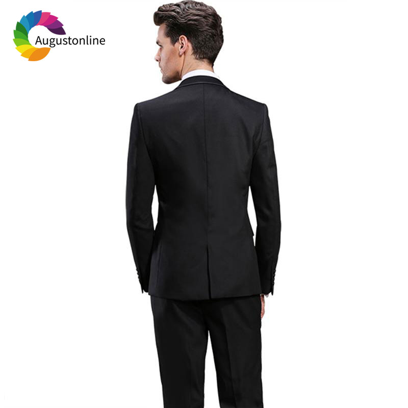 Men Suits Wedding Suits Costumes Mariage Homme Men's Wedding Suits Terno Masculino Costume Homme Mariage Men Suit with Pants Best Man Blazer Masculino Men's Suits Slim Fit Custom Made (47)