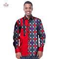 Тренд мужчины африканский мода dashiki дизайн печати рубашка мандарин воротник персональный индивидуальные африканских dashiki мужская одежда WYN229