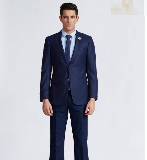 75432f9928 The most formal men business suits handsome two grain of buckle custom dress  wedding the groom's best man suit the party dress