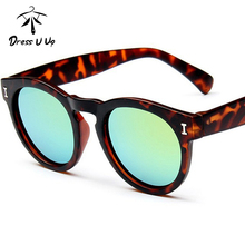 DRESSUUP Round Baby Boys Girls Kids Leopard Sunglasses Brand Designer UV400 Children Sun Glasses Oculos De Sol Gafas