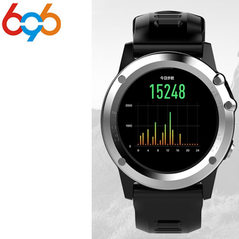 696 H1 Smart Watch Android 5.1 OS Smartwatch MTK6572 512MB 4GB ROM GPS SIM 3G Heart Rate Monitor Camera Waterproof Sports Wristw цена и фото