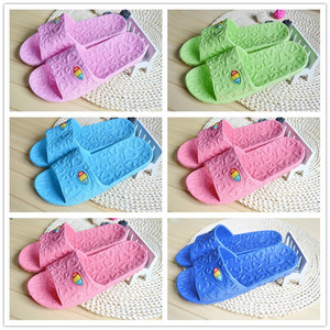 Love home slippers indoor men and women bathroom slippers slip home shoes summer women couple slippers|Slippers| |  -